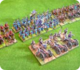 15mm historical miniatures and 28mm gothic horror amongst Others